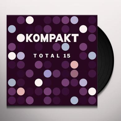 KOMPAKT TOTAL 15 / VARIOUS Vinyl Record