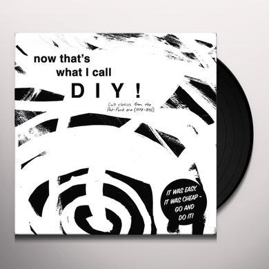 NOW THAT'S WHAT I CALL DIY CULT CLASSICS / VARIOUS Vinyl Record