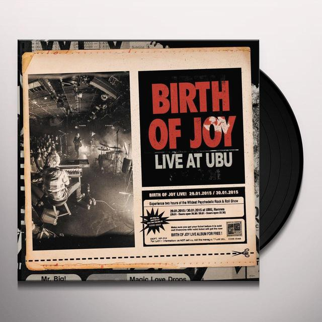 Birth Of Joy LIVE AT UBU Vinyl Record