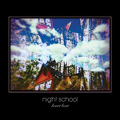 Night School HEART BEAT Vinyl Record