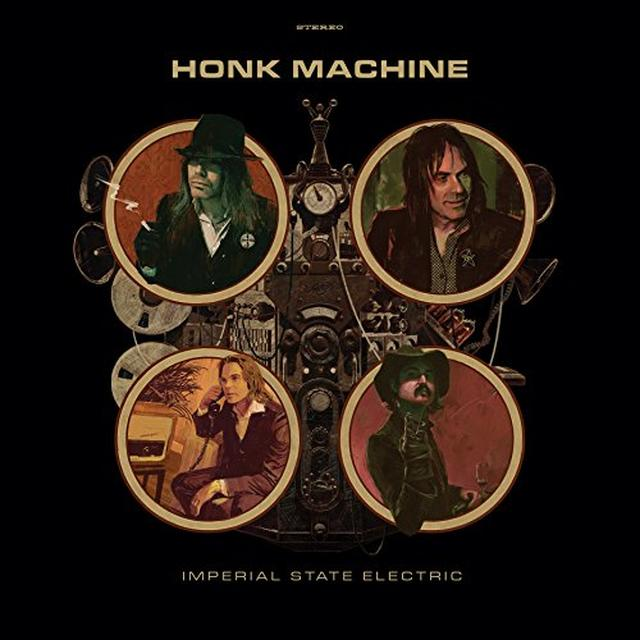Imperial State Electric HONK MACHINE Vinyl Record