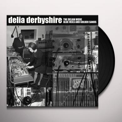 Delia Derbyshire DELIAN MODE / BLUE VEILS & GOLDEN SANDS Vinyl Record - Gatefold Sleeve