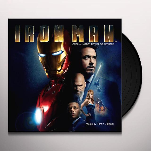 RAMIN DJAWADI IRON MAN (SCORE) / O.S.T. Vinyl Record - Black Vinyl, Limited Edition, 180 Gram Pressing