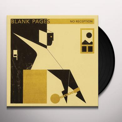 BLANK PAGES NO RECEPTION / GOLDEN CHAINS Vinyl Record
