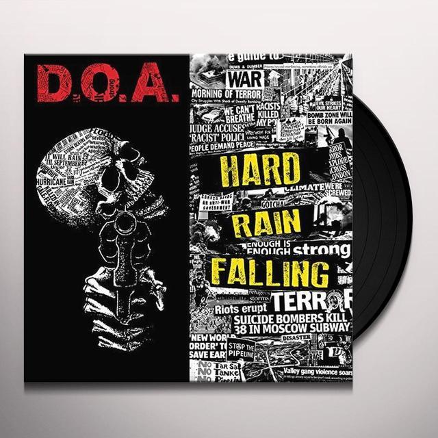 Doa HARD RAIN FALLING Vinyl Record
