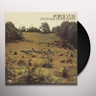 Popol Vuh LETZTE TAGE - LETZTE NACHTE (BONUS TRACK) Vinyl Record