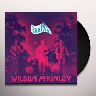 Wilson McKinley SPIRIT OF ELIJAH Vinyl Record - Limited Edition, Reissue