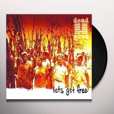 Dead Prez LET'S GET FREE Vinyl Record