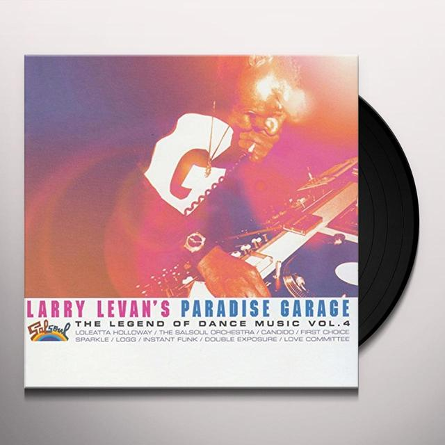 LARRY LEVAN'S PARADISE GARAGE: LEGEND 4 / VARIOUS Vinyl Record