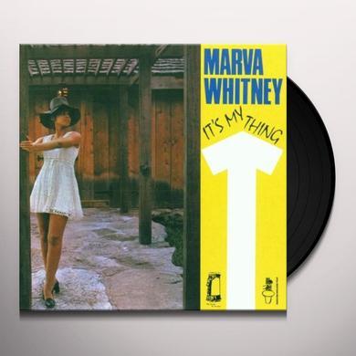 Marva Whitney IT'S MY THING Vinyl Record - 180 Gram Pressing