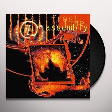 Front Line Assembly PLASTICITY Vinyl Record - 10 Inch Single