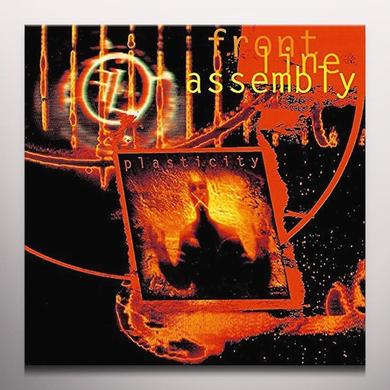 Front Line Assembly PLASTICITY Vinyl Record - Colored Vinyl, Red Vinyl
