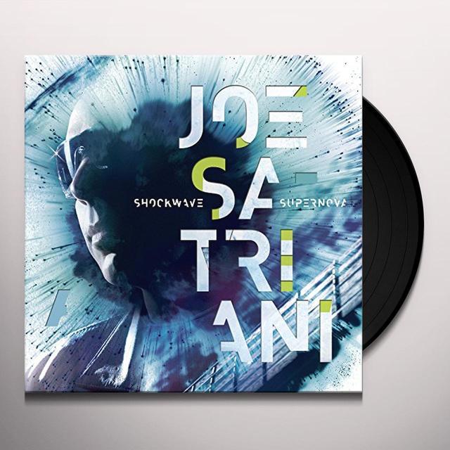 Joe Satriani SHOCKWAVE SUPERNOVA Vinyl Record - Gatefold Sleeve