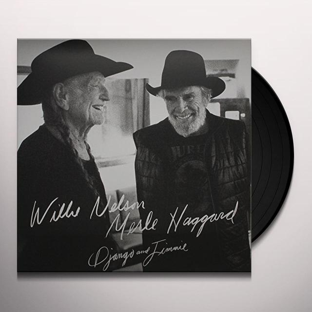 Willie Nelson & Merle Haggard DJANGO & JIMMIE Vinyl Record