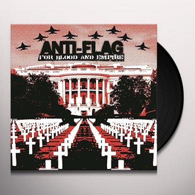 Anti-Flag FOR BLOOD & EMPIRE Vinyl Record