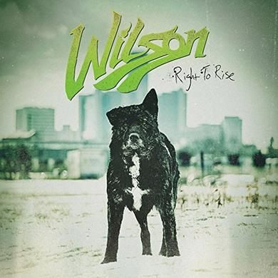 Wilson RIGHT TO RISE Vinyl Record - UK Import