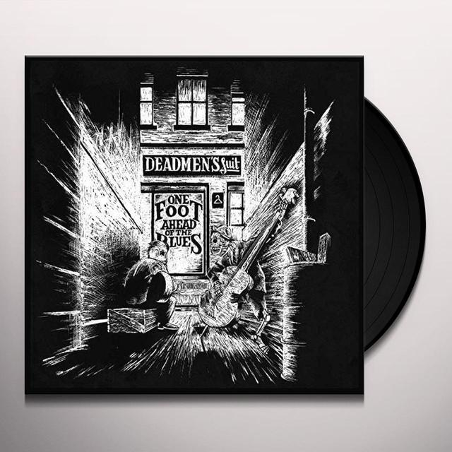 DEADMEN'S SUIT ONE FOOT AHEAD OF THE BLUES (BLUE VINYL) Vinyl Record - 10 Inch Single