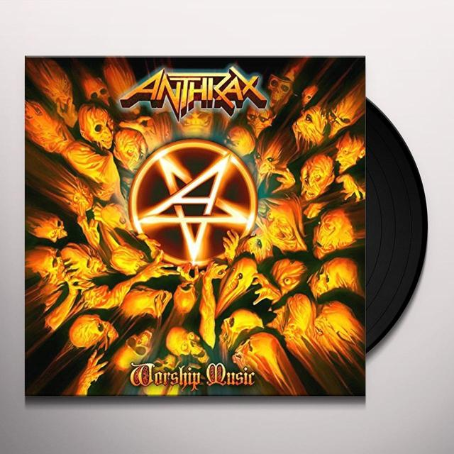 Anthrax WORSHIP MUSIC Vinyl Record - UK Import