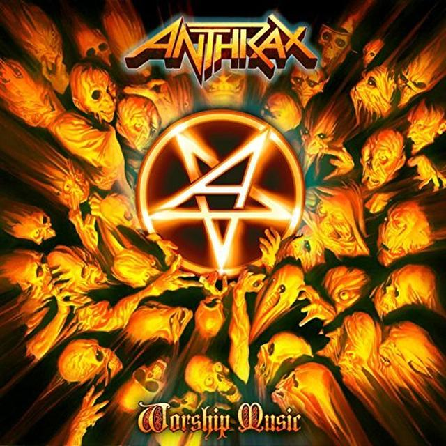 Anthrax WORSHIP MUSIC Vinyl Record