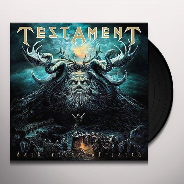 Testament DARK ROOTS OF EARTH Vinyl Record