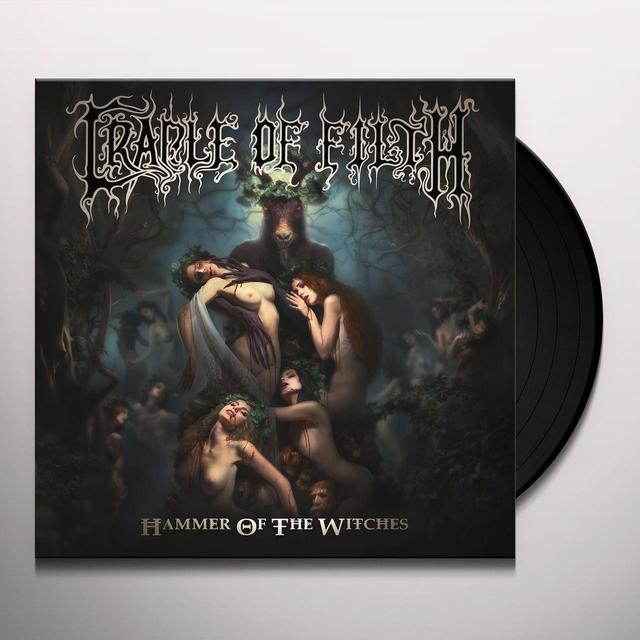 Cradle Of Filth HAMMER OF THE WITCHES Vinyl Record - UK Import