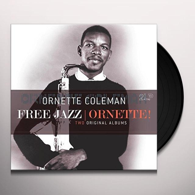 Ornette Coleman FREE JAZZ / ORNETTE Vinyl Record - Holland Import