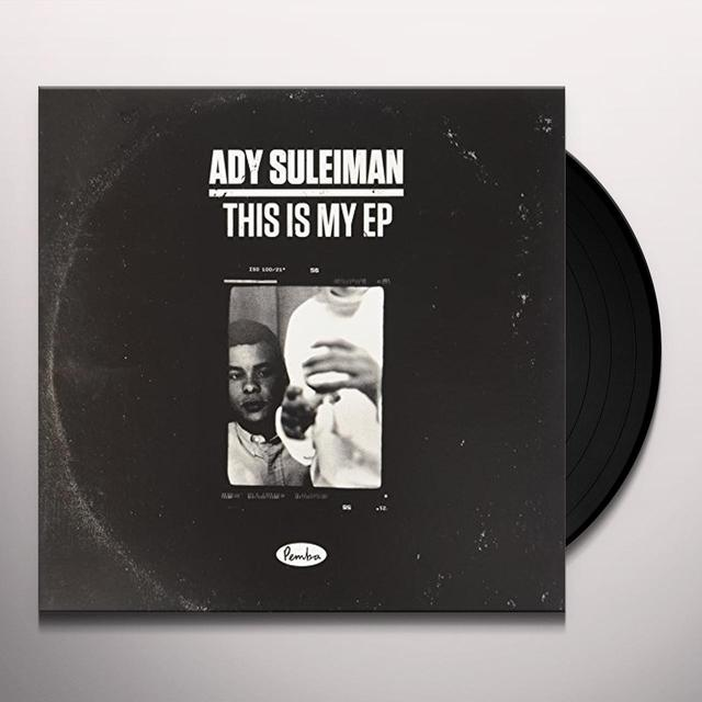 Ady Suleiman STATE OF MIND Vinyl Record - UK Import