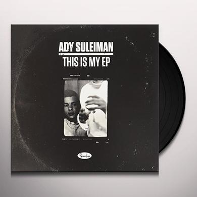 Ady Suleiman STATE OF MIND Vinyl Record - UK Import