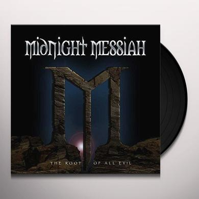 MIDNIGHT MESSIAH ROOT OF ALL EVIL Vinyl Record - UK Import