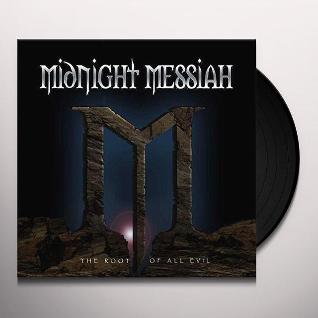 MIDNIGHT MESSIAH ROOT OF ALL EVIL Vinyl Record - UK Import