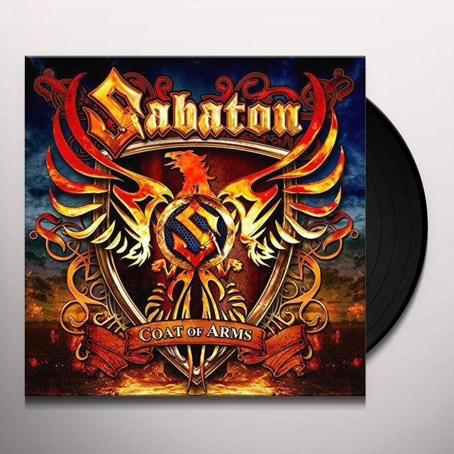 Sabaton COAT OF ARMS Vinyl Record - UK Import