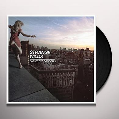 STRANGE WILDS SUBJECTIVE CONCEPTS Vinyl Record - UK Import