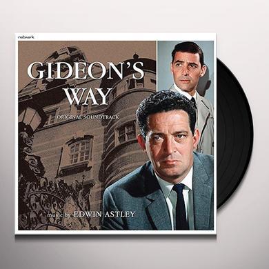 GIDEON'S WAY / O.S.T. (UK) GIDEON'S WAY / O.S.T. Vinyl Record - UK Import