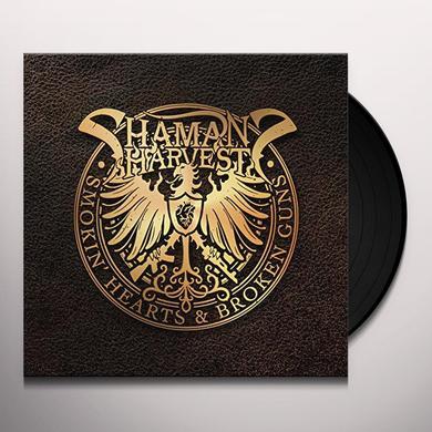 Shaman's Harvest SMOKIN' HEARTS & BROKEN GUNS Vinyl Record - UK Import