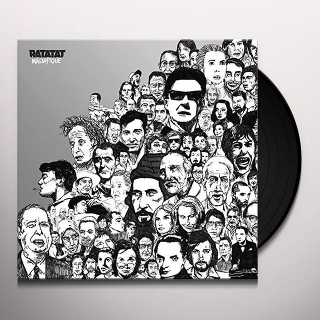 Ratatat MAGNIFIQUE Vinyl Record - UK Import
