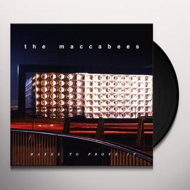 Maccabees MARKS TO PROVE IT(ORANGE VINYL) Vinyl Record - UK Release