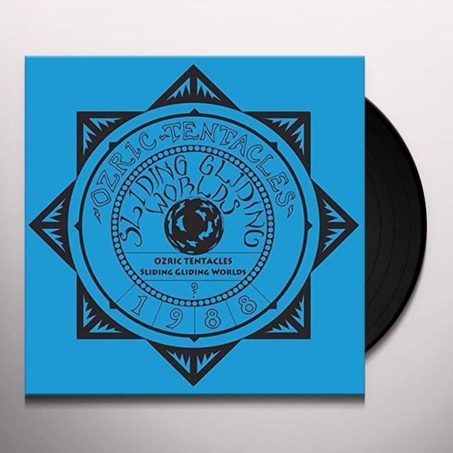 Ozric Tentacles SLIDING GLIDING WORLDS Vinyl Record - UK Import