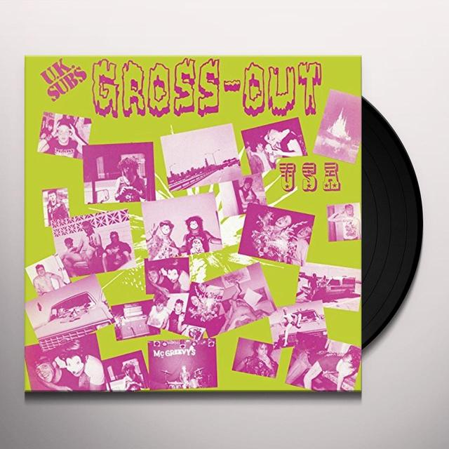 U.K. Subs GROSS OUT USA Vinyl Record - UK Release