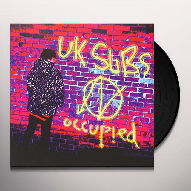 U.K. Subs OCCUPIED Vinyl Record - UK Release