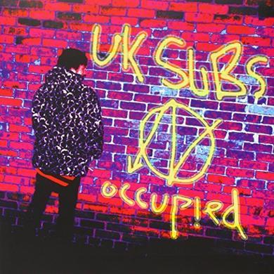 U.K. Subs OCCUPIED Vinyl Record - UK Import