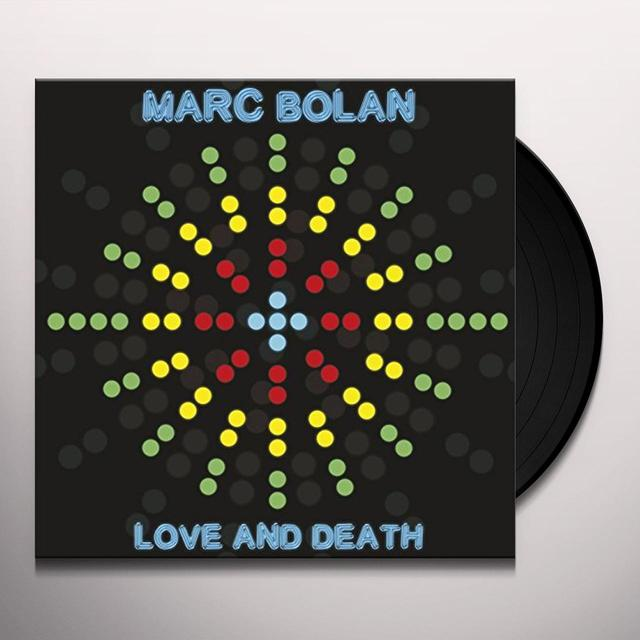 Marc Bolan LOVE & DEATH Vinyl Record - UK Import