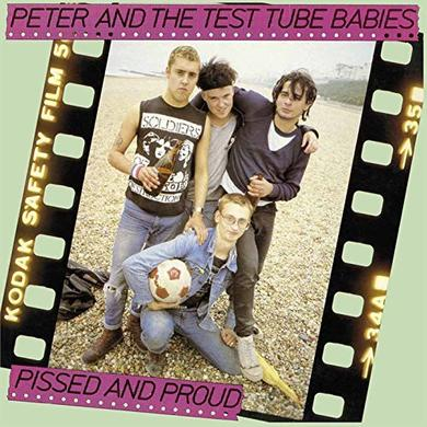 Peter and the Test Tube Babies PISSED & PROUD / RARITIES 12 Vinyl Record - UK Import
