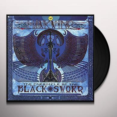 Hawkwind CHRONICAL OF THE BLACK SWORD Vinyl Record - UK Release