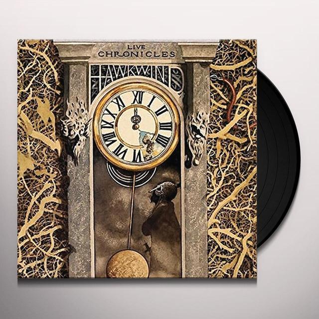 Hawkwind LIVE CHRONICLES Vinyl Record - UK Import