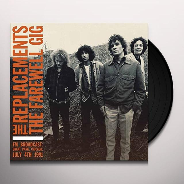 The Replacements FAREWELL GIG Vinyl Record - UK Import