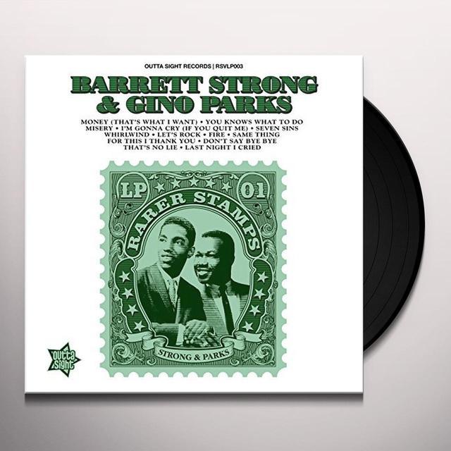Barrett Strong / Gino Parks RARER STAMPS 1 Vinyl Record - UK Import