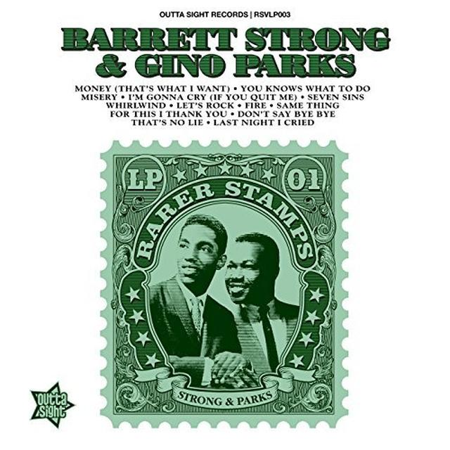 Barrett Strong / Gino Parks RARER STAMPS 1 Vinyl Record - UK Import