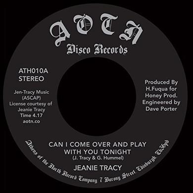 Jeanie Tracy CAN I COME OVER AND PLAY WITH YOU TONIGHT Vinyl Record