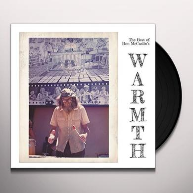 BEST OF DON MCCASLIN'S WARMTH Vinyl Record - UK Release