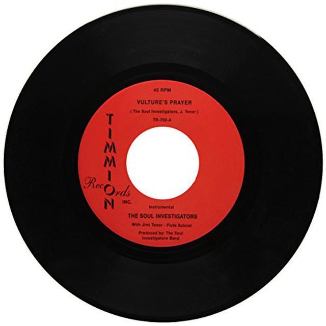 The Soul Investigators VULTURE'S PRAYER Vinyl Record